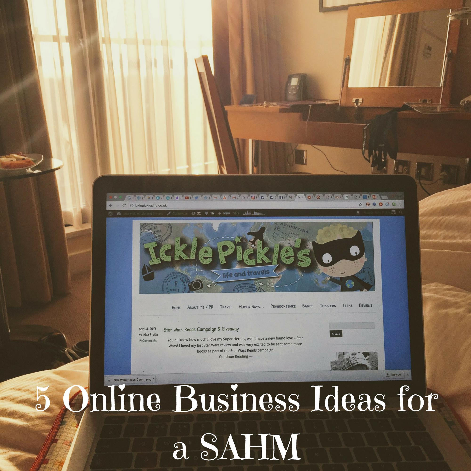 5 Online Business Ideas for a SAHM