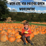 Win £75 via PayPal Open Worldwide