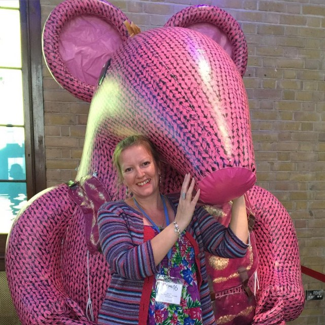 helloclangers britmums BML16 clangersforkindness Im colour coordinated with a Clanger!hellip
