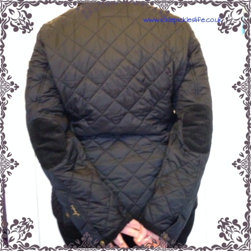 joules winter quilted jacket