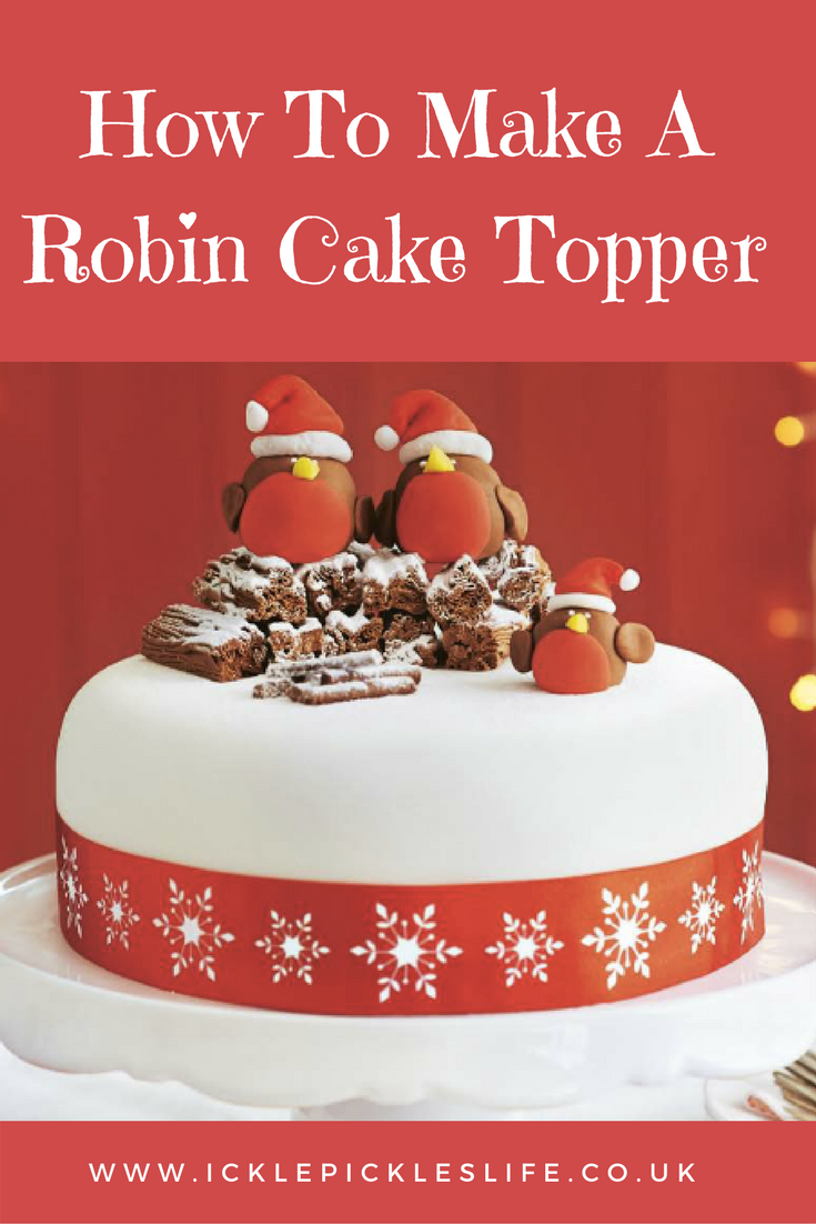 How To Make A Robin Cake Topper