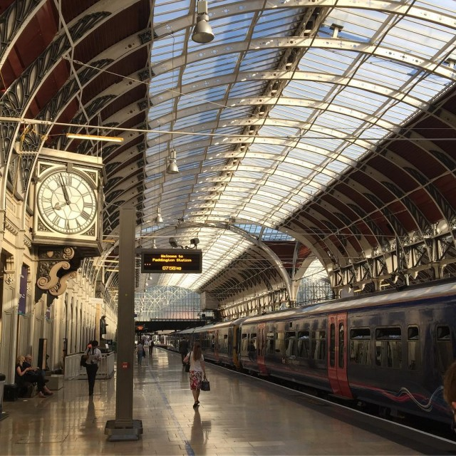 This was this morning at Paddington Station On way homehellip