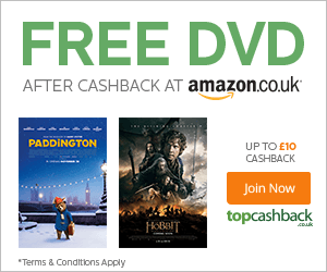 topcashback free amazon dvd