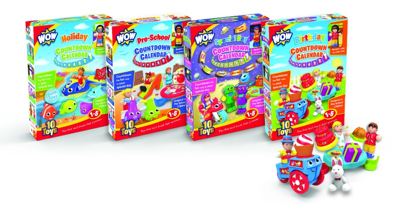 wow toys countdown calenders