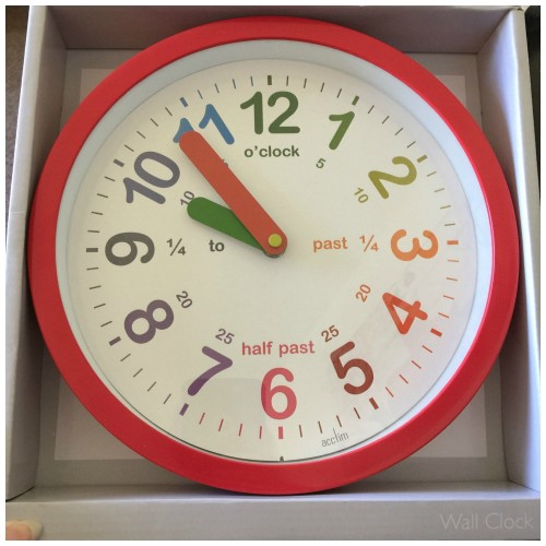 room to grow clock