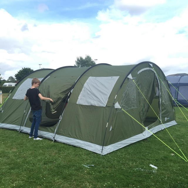 We are here! Our fabulous skandika Tent is up ourhellip