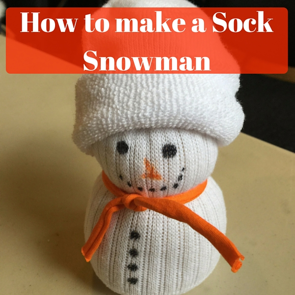 how to make a sock snowman ickle pickles life and travels