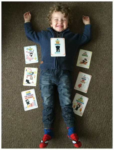 toddler milestone cards