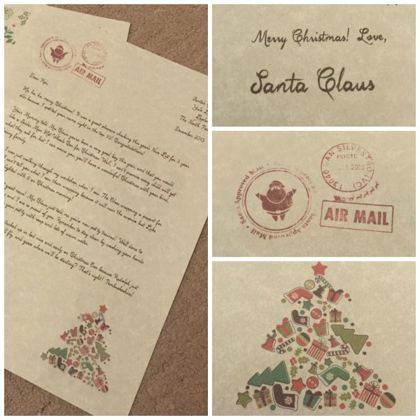 my letter from santa