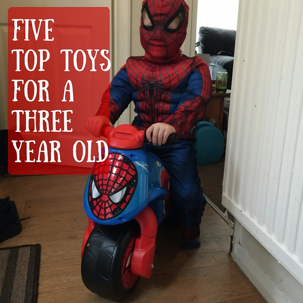 Five Top Toys for a Three Year Old