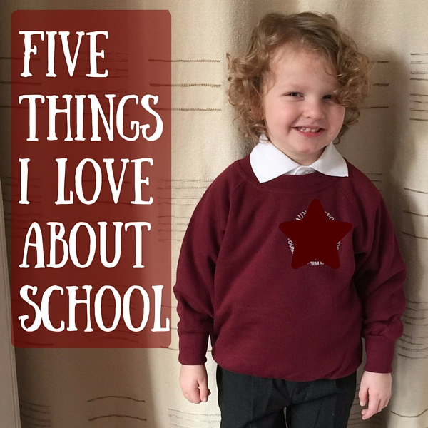 Five things i love about school