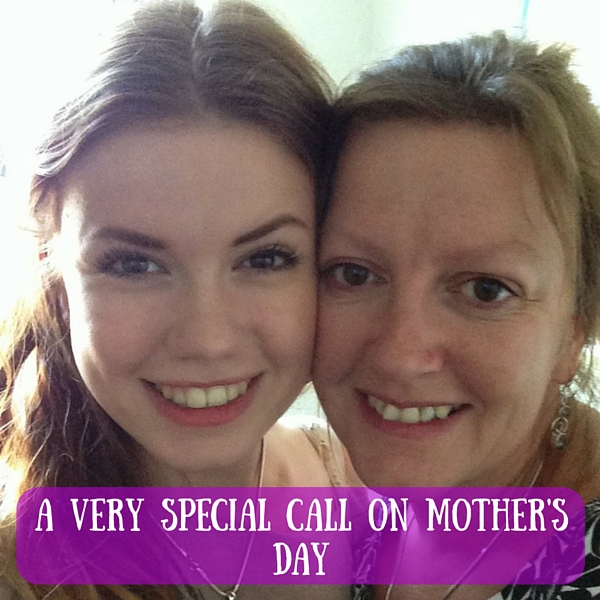 A very special call on Mother's Day