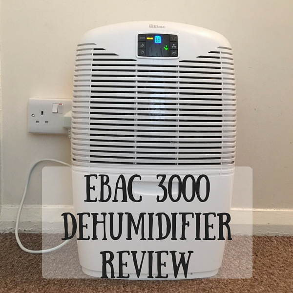 Ebac 3000 Dehumidifier Review Ickle Pickles Life And Travels