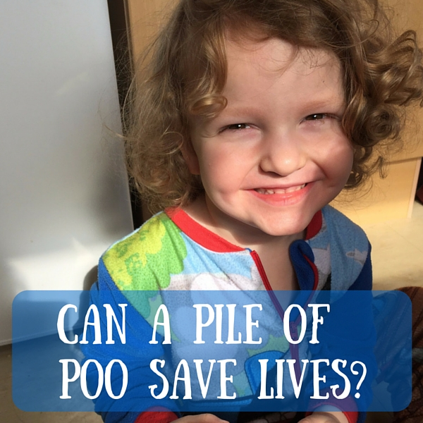 can a pile of poo save lives-