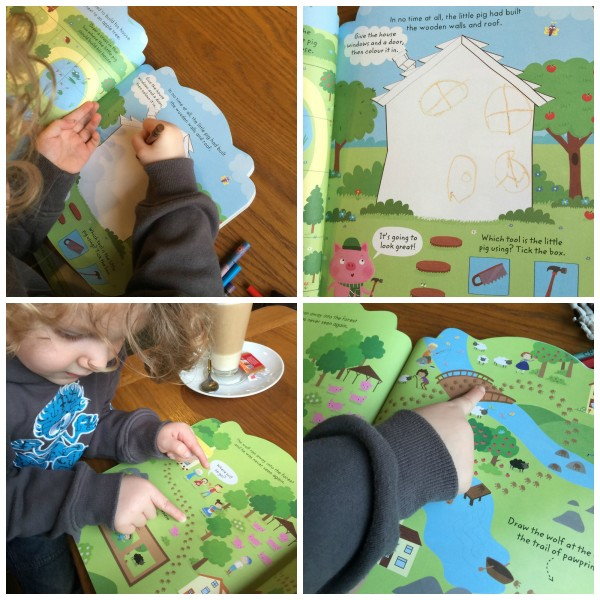 my giant fairy tales activity book 2