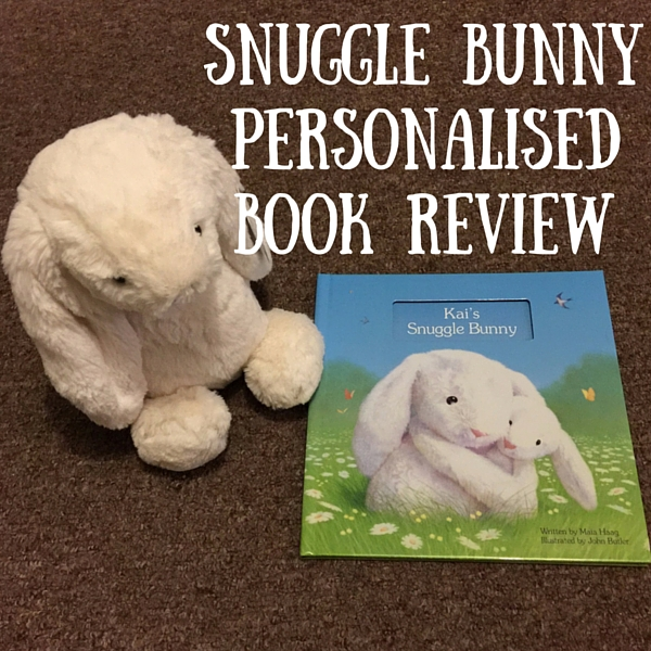 snuggle bunny personalised book review