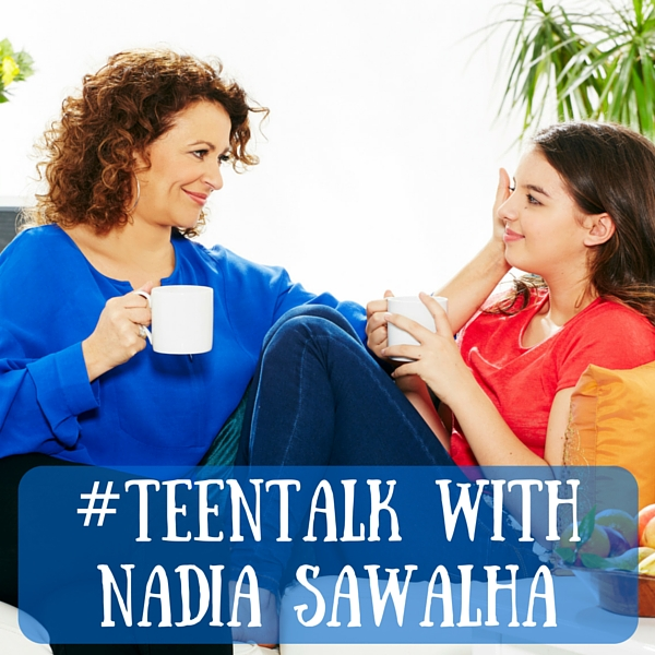 #teentalk with Nadia Sawalha