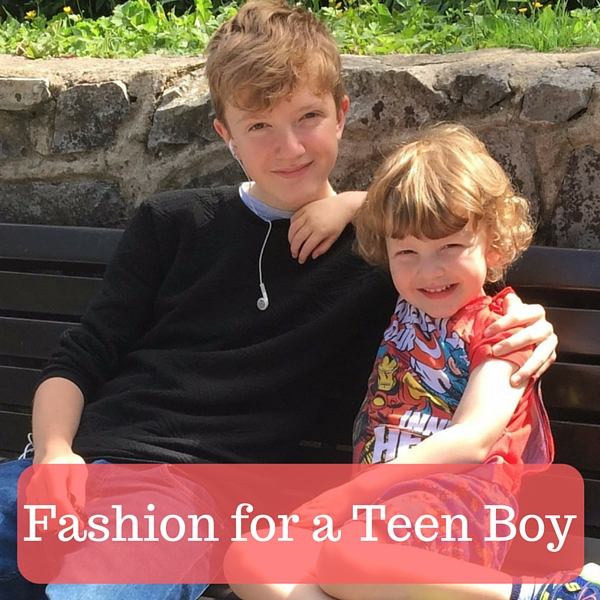Fashion for a Teen Boy