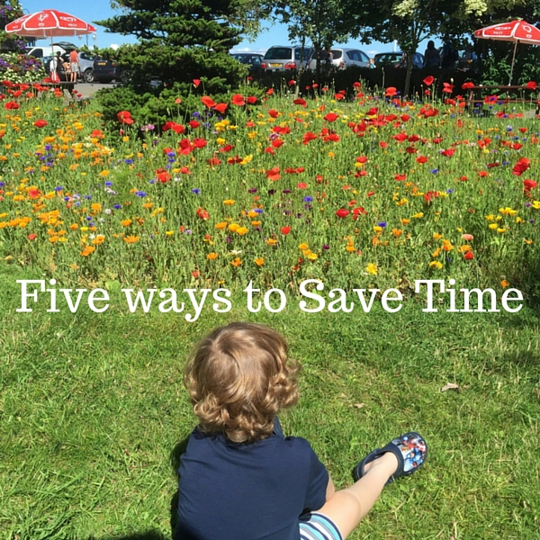 Five ways to Save Time
