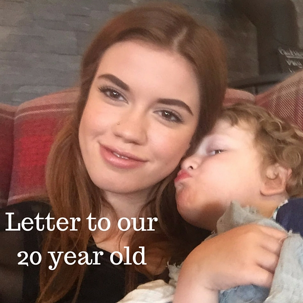Letter to our 20 year old