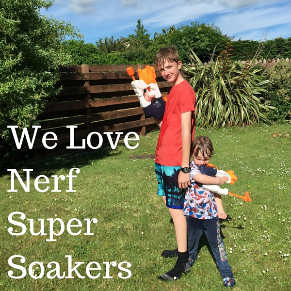 We Love Nerf Super Soakers