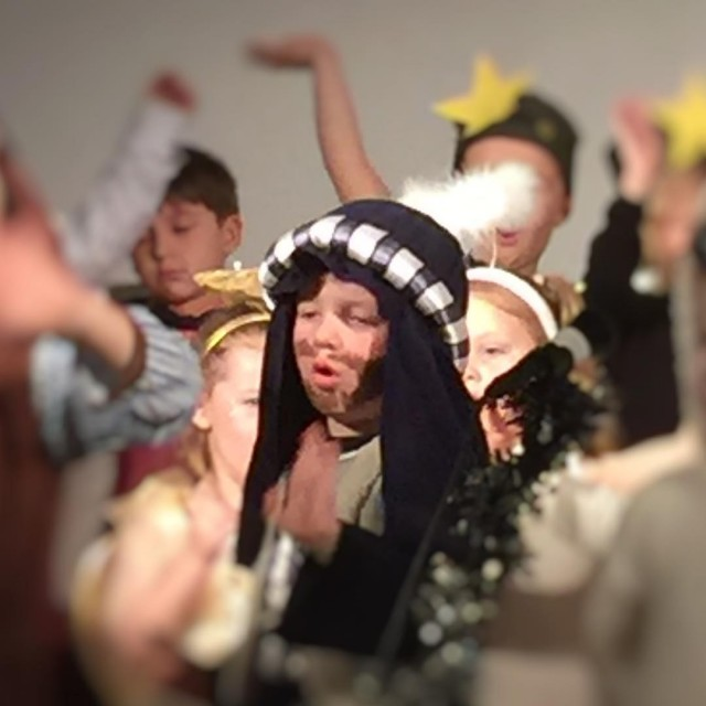 Pickle was a star in the Nativity which was anhellip