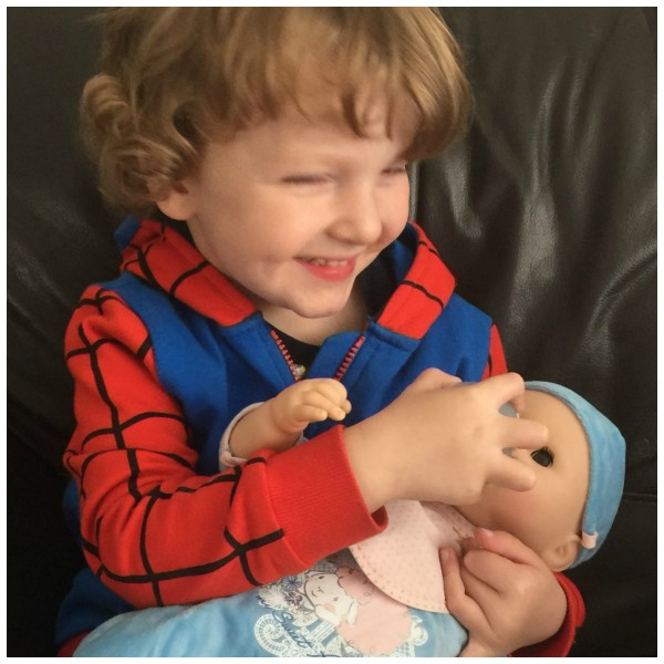 Baby Annabell Brother Interactive Doll