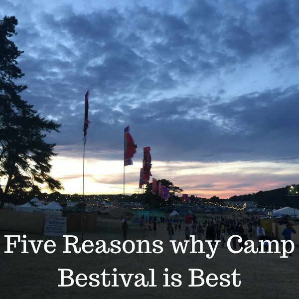 Five Reasons why Camp Bestival is Best