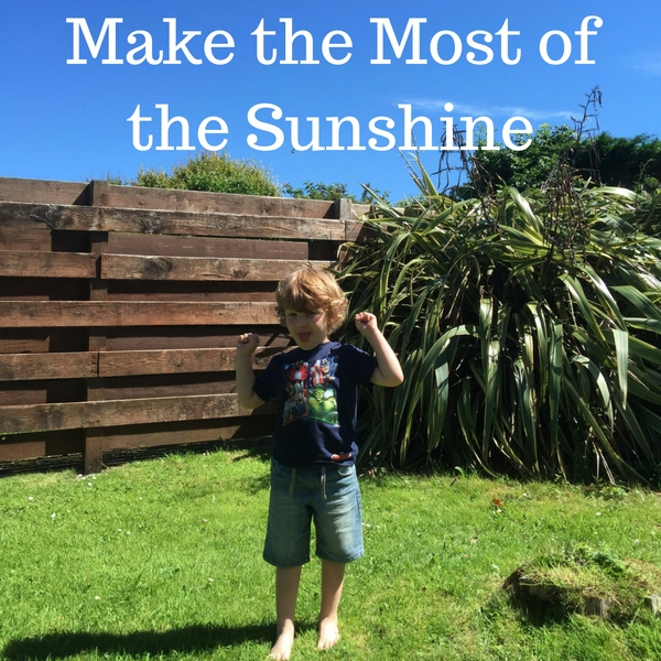 Make the Most of the Sunshine