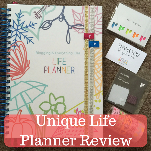 Unique Life Planner Review