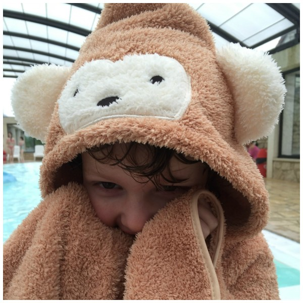 Cuddledry Snuggle Monkey Fun Towel