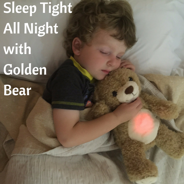 Sleep Tight All Night with Golden Bear