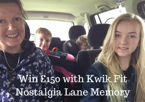 Win £150 with Kwik Fit Nostalgia Lane Memory
