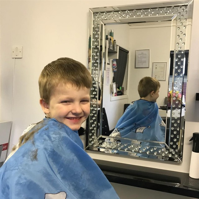 Yesterday Pickle has his first hair cut in a bighellip