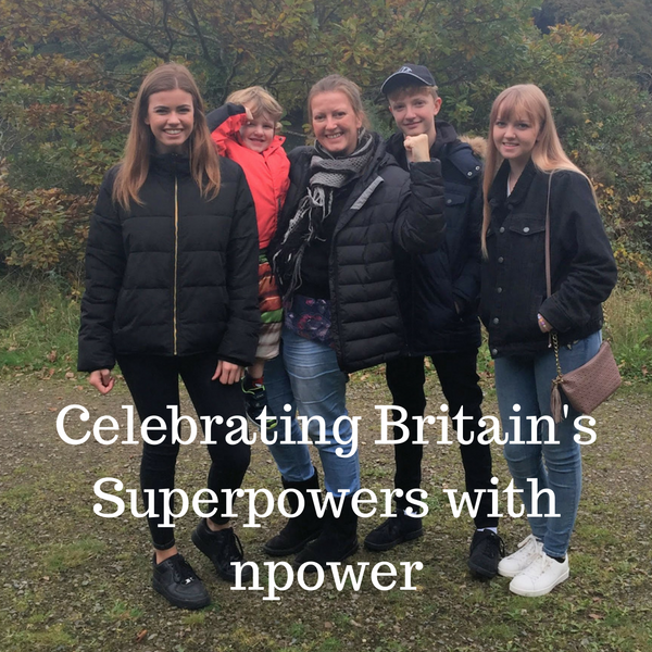 Celebrating Britain's Superpowers with npower