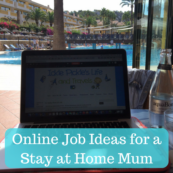 Online Job Ideas for a Stay at Home Mum