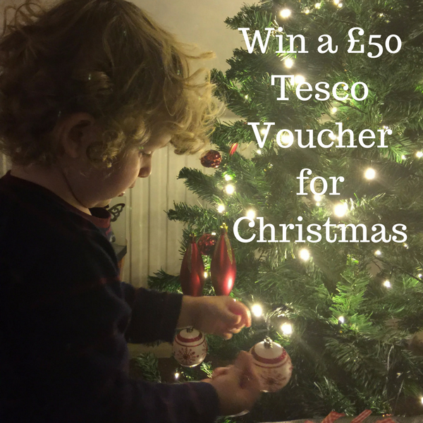 Win a £50 Tesco Voucher for Christmas
