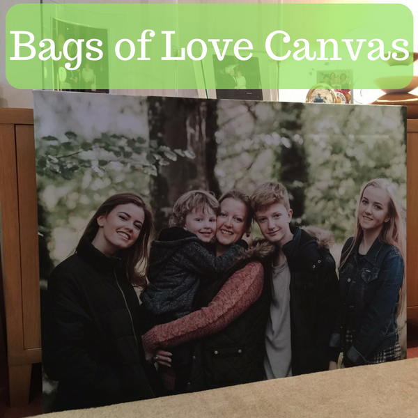 Bags of Love Canvas