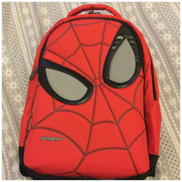 A new Spider-Man Back Pack