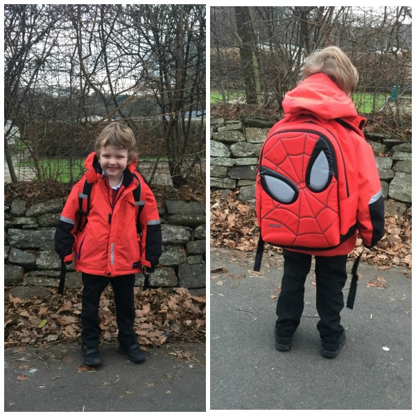 A new Spider-Man Back Pack 5