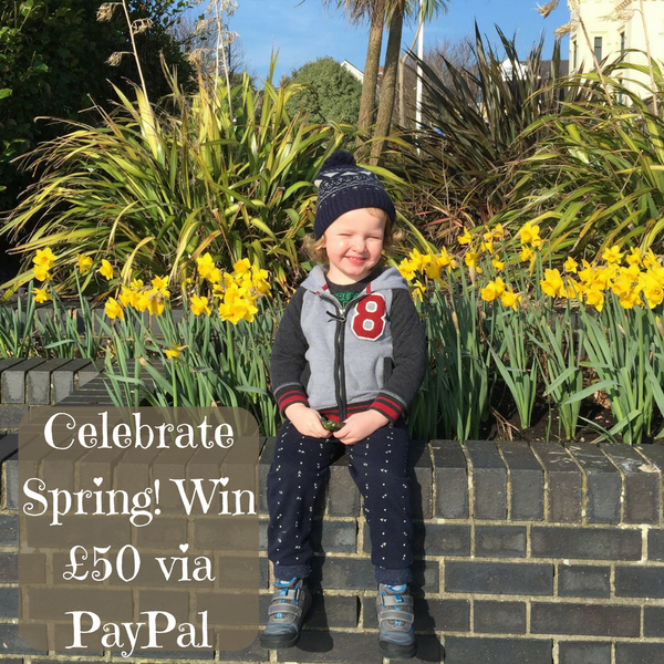 Celebrate Spring! Win £50 via PayPal