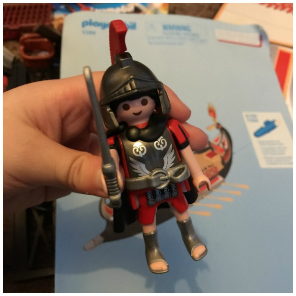 Playmobil Roman Warrior's Ship 3
