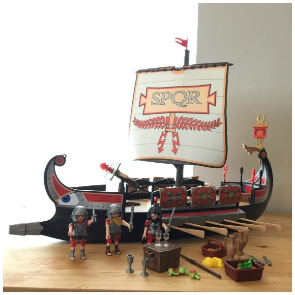 Playmobil Roman Warrior's Ship 4