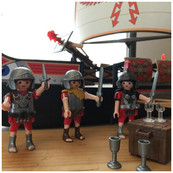 Playmobil Roman Warrior's Ship 5