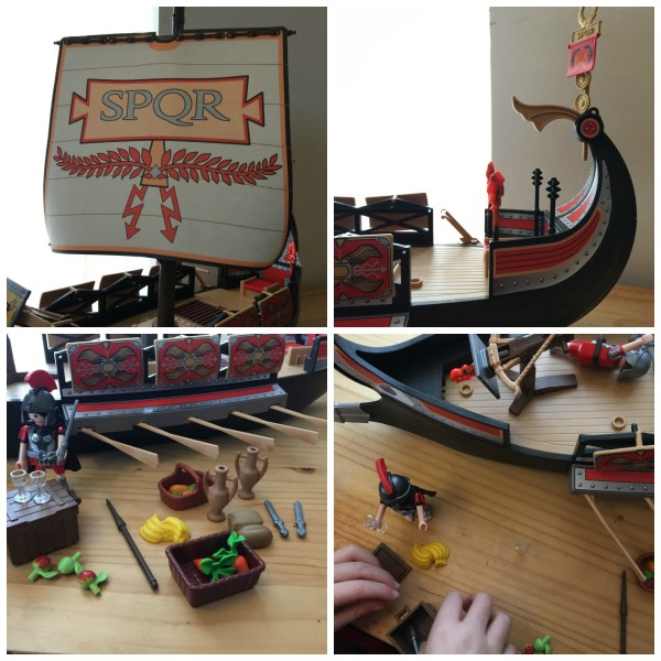 Playmobil Roman Warrior's Ship 6