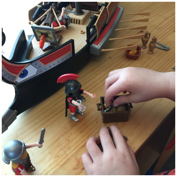 Playmobil Roman Warrior's Ship 8