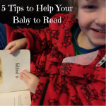 5 Tips to Help Your Baby to Read