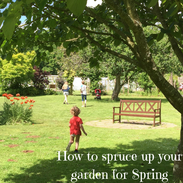 How to spruce up your garden for Spring