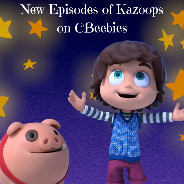 New Episodes of Kazoops on CBeebies