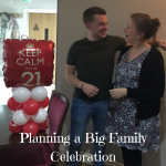Planning a Big Family Celebration